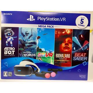 プレイステーションヴィーアール(PlayStation VR)のプレイステーション VR PlayStationVR MEGA PACK(家庭用ゲームソフト)