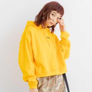 X-girl - エックスガール x-girl ショート丈 パーカー