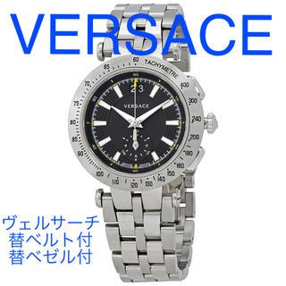 ヴェルサーチ(VERSACE)のVERSACE ヴェルサーチ Vレーススポーツ VAH01 替ベルトベゼル付き(腕時計(アナログ))