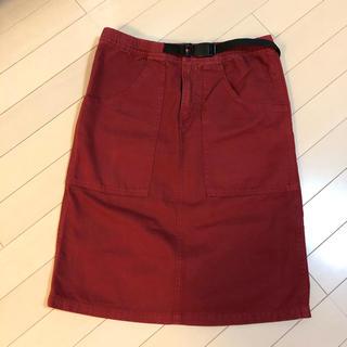 グラミチ(GRAMICCI)のグラミチ スカート S  ボルドー ワインレッド(ロングスカート)