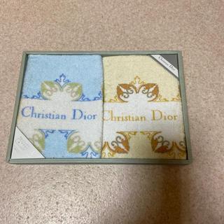 クリスチャンディオール(Christian Dior)のCDウォッシュタオル(タオル/バス用品)