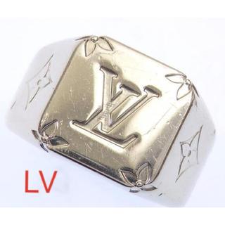 ルイヴィトン(LOUIS VUITTON)のルイ ヴィトン シグネット リング モノグラム 指輪(リング(指輪))