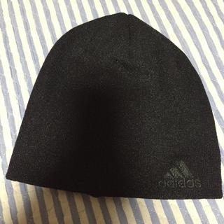 アディダス(adidas)のアディダス ニットキャップ 新品 限定 ブラック 野球 トレーニング ジム(ニット帽/ビーニー)
