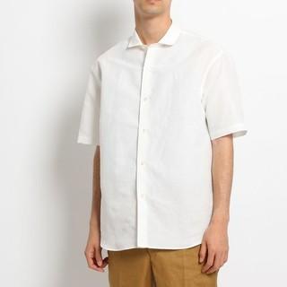 ドレステリア(DRESSTERIOR)のDRESSTERIOR リネンダンガリーシャツ 新品未使用 サイズ92 ホワイト(シャツ)