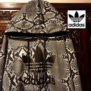 adidas - アディダス adidas パイソン柄 パーカー スウェット オリジナルス レア