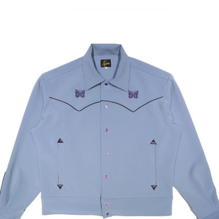 ニードルス(Needles)のPAPILLON EMB PIPING COWBOY SHIRT needles(ブルゾン)