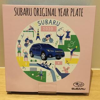 スバル - スバル ノベルティ 2020  year plate