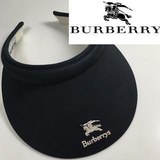 バーバリー(BURBERRY)の90's Burberrs バーバリー サンバイザー(サンバイザー)