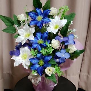 仏花、てっせん、ブルー&ホワイト(その他)