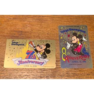 ディズニー(Disney)のディズニー 東京ディズニーランド ミッキーマウス テレホンカード テレカ 新品(その他)