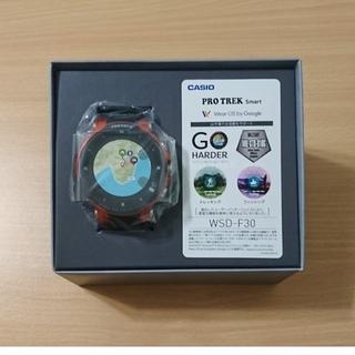新品・未使用☆CASIO☆PRO TREK Smart☆WSD-F30☆オレンジ(腕時計(デジタル))