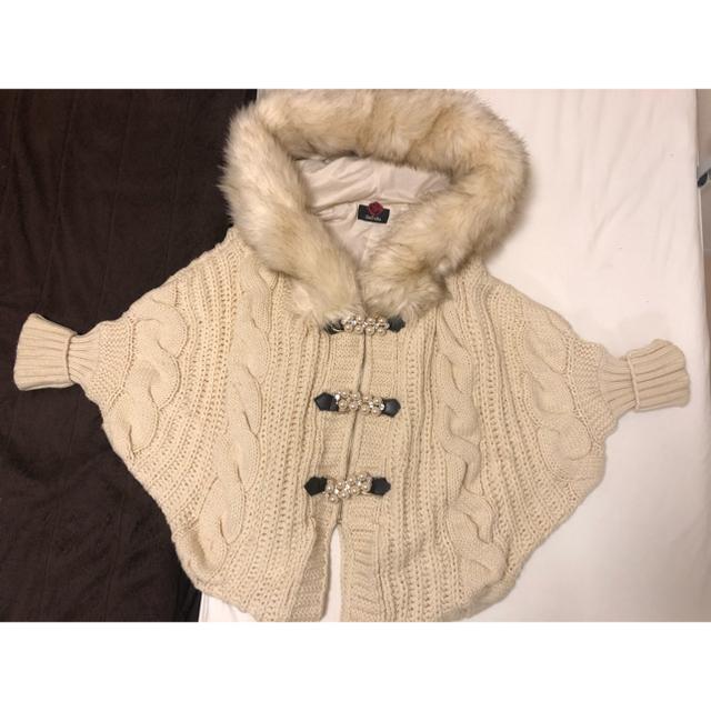 DaTuRa(ダチュラ)のDaTuRa ニットアウター レディースのジャケット/アウター(ニットコート)の商品写真