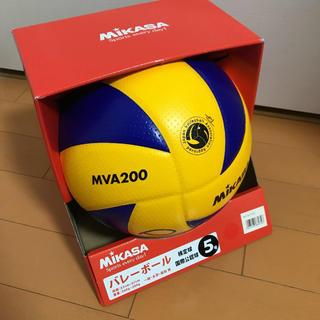 Vリーグ試合球 ミカサ バレーボール 5号球 MVA200 Vリーガーサイン付き