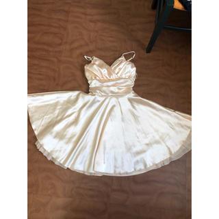 ワンピース  結婚式 ドレス パーティー(ミディアムドレス)