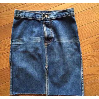 アールジーン(Earl Jean)のEarI Jeanのデニムスカート(ひざ丈スカート)