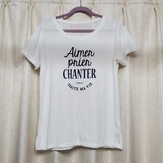 エニィスィス(anySiS)のany SiS ロゴTシャツ(Tシャツ(半袖/袖なし))