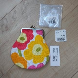 マリメッコ(marimekko)の[未使用品] marimekko がま口財布(コインケース)