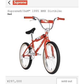 シュプリーム(Supreme)のSupreme S&M 1995 BMX Dirtbike  DIRT BIKE(自転車本体)