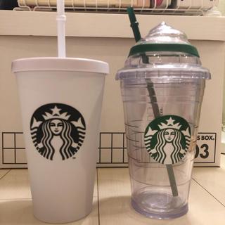 スターバックスコーヒー(Starbucks Coffee)の★未使用★スターバックス ロゴコールドカップタンブラー(タンブラー)