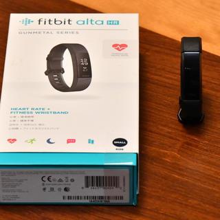 フィットフィット(fitfit)のFITBIT Alta HR スペシャルエディション S(その他)