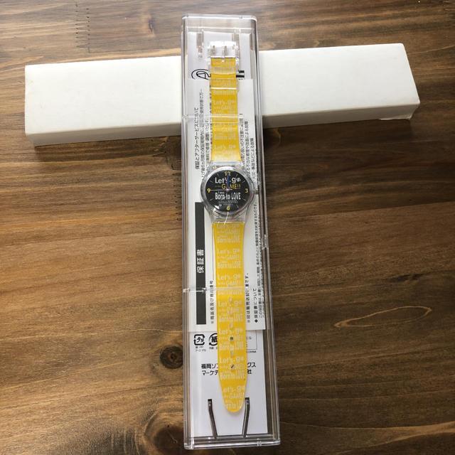 福岡ソフトバンクホークス(フクオカソフトバンクホークス)の福岡ソフトバンクホークス 時計 スポーツ/アウトドアの野球(応援グッズ)の商品写真