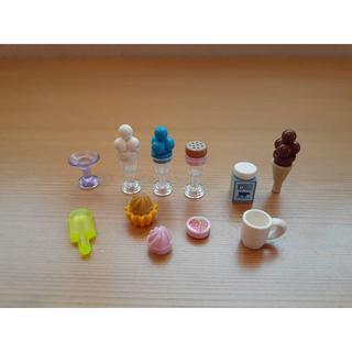 レゴ(Lego)のレゴ ●食べ物 ばら売り アイスクリーム カップケーキ  牛乳 マグカップなど(その他)