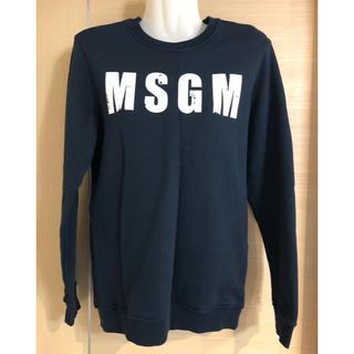 エムエスジイエム(MSGM)のMSGM KIDS 14歳サイズ 大人もok トレーナー 美品(トレーナー/スウェット)