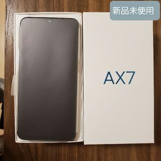 アンドロイド(ANDROID)の321様専用 新品未使用 OPPO AX7 ゴールド(スマートフォン本体)