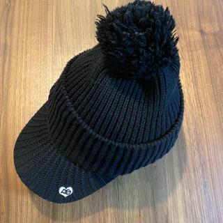 パーリーゲイツ(PEARLY GATES)の【モンチッチさま専用】PEARLYGATES パリーゲイツ ゴルフニット帽(キャップ)