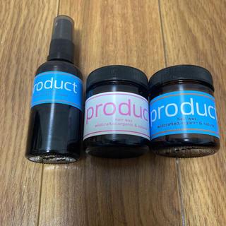 プロダクト(PRODUCT)のザ・プロダクトヘアワックス2個セット ヘアシャインセラム(オイル/美容液)