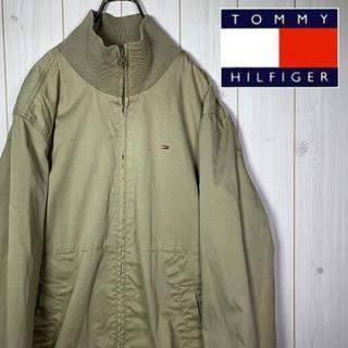 TOMMY HILFIGER - 【激レア】 トミーヒルフィガー ワンポイント 刺繍ロゴ ジャケット