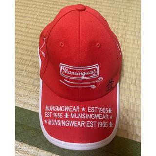 マンシングウェア(Munsingwear)のマンシング ゴルフキャップ(ウエア)