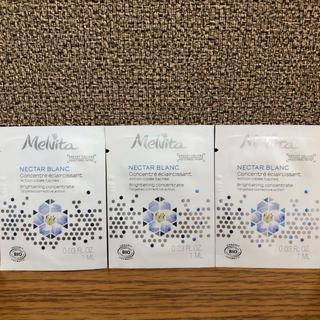 メルヴィータ(Melvita)のネクターブラン コンセントレイト ジェルセラム 美容液 1ml 3袋(美容液)