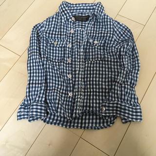 フィス(FITH)のフィス  ギンガムチェックシャツ110(ブラウス)