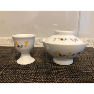 ファミリア(familiar)のファミリア お茶碗とエッグスタンド(プレート/茶碗)