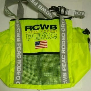 ロデオクラウンズワイドボウル(RODEO CROWNS WIDE BOWL)のRODEO CROWNS WIDE BOWL RCWB PEAC ショルダー 鞄(ショルダーバッグ)