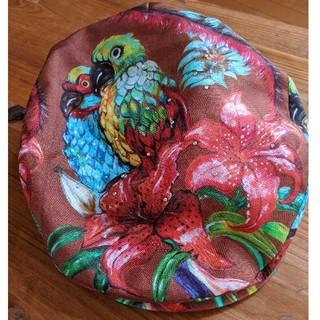 カシラ(CA4LA)の◇CA4LA 色鮮やかなバード柄が可愛い ハンチング◇(ハンチング/ベレー帽)