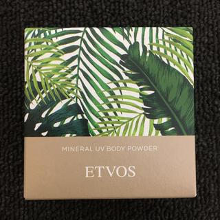 エトヴォス(ETVOS)のエトヴォス  ミネラルUVボディパウダー(日焼け止め/サンオイル)