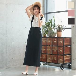 コウベレタス(神戸レタス)のサスペンダー付きバックゴムタイトロングスカート(ロングスカート)