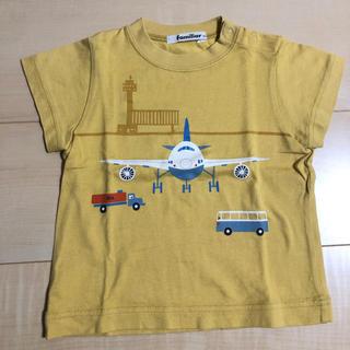 ファミリア(familiar)のファミリア 飛行機 半袖Tシャツ(Tシャツ/カットソー)