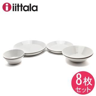 イッタラ(iittala)のイッタラ ティーマ プレート&ボウル スターター 8点セット ホワイト 白(食器)
