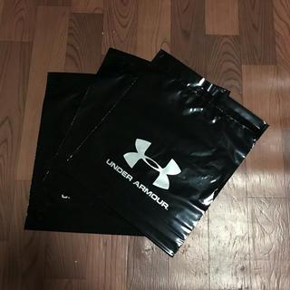 アンダーアーマー(UNDER ARMOUR)の今だけ+1枚 アンダーアーマー ショップ袋 3枚組 ショッピングバック 手提げ(ショップ袋)