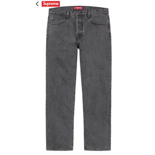 シュプリーム(Supreme)の新品 20ss Supreme Washed Regular Jean 黒 30(デニム/ジーンズ)