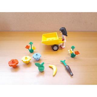 レゴ(Lego)のレゴ LEGO●食べ物 ばら売り りんご バナナ にんじん カート お花(大・小(その他)