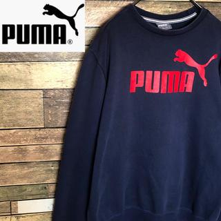 プーマ(PUMA)の【激レア】プーマ  スウェット トレーナー デカロゴデザイン プルオーバー(スウェット)