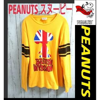 ピーナッツ(PEANUTS)のPEANUTS ピーナッツ スヌーピー ロンT トリコカラー snoopy(Tシャツ/カットソー(七分/長袖))