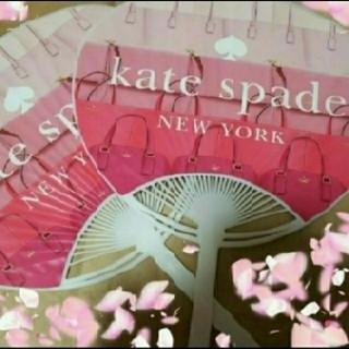 ケイトスペードニューヨーク(kate spade new york)の非売品 1点 ピンク 可愛い 女子力 うちわ ケイト・スペード 団扇 レア(その他)