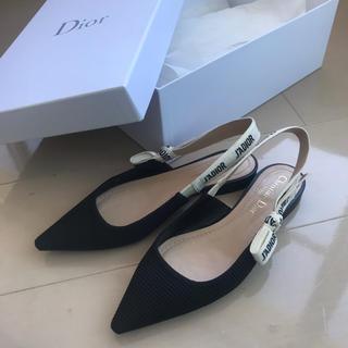 クリスチャンディオール(Christian Dior)の美品♡ J'Adior♡フラットシューズ♡箱つき(バレエシューズ)