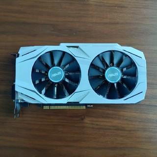 エイスース(ASUS)の中古 本体のみ ASUS GTX-1070 DUAL-GTX1070-O8G(PCパーツ)