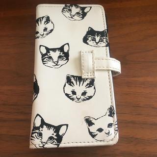 猫イラスト スマホケース(iPhoneケース)